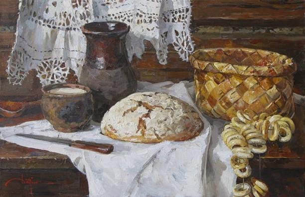 Как русский человек должен обращаться с хлебом