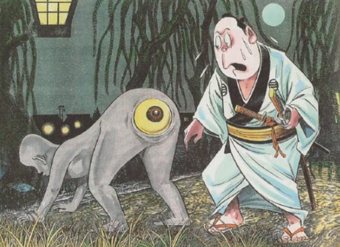 Японцы по-настоящему верят в существование этих мифических монстров!