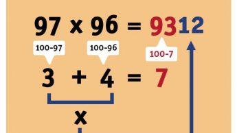9 хитростей, которые помогут вам овладеть математикой в два счёта