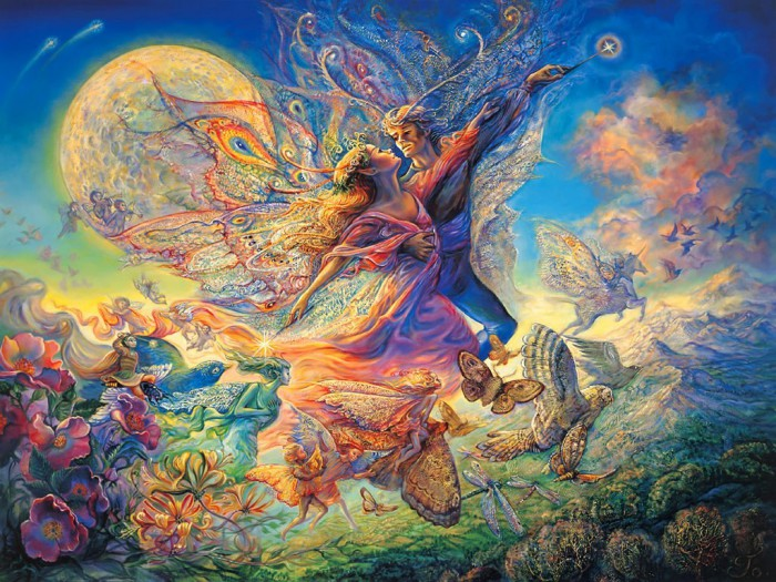 Эльфийский танец. Автор: Josephine Wall.