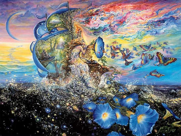 Квест Андромеды. Автор: Josephine Wall.