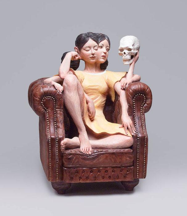 Необычные работа Йошитоши Канемаки.