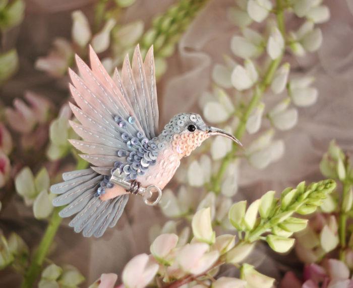 Полёт фантазии: 20 волшебных творений из шелка, бисера, пайеток и страз_257