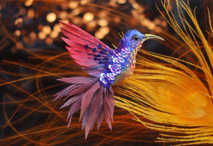Полёт фантазии: 20 волшебных творений из шелка, бисера, пайеток и страз_261