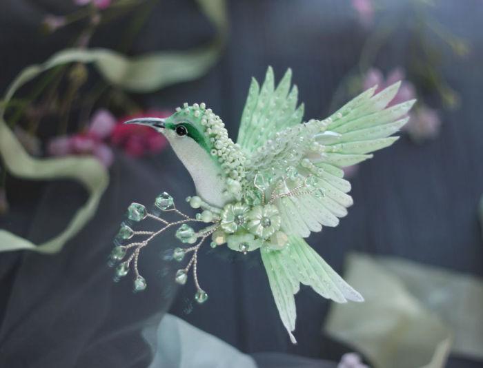 Полёт фантазии: 20 волшебных творений из шелка, бисера, пайеток и страз_263