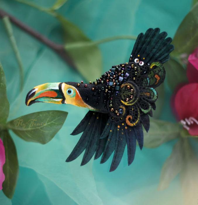 Полёт фантазии: 20 волшебных творений из шелка, бисера, пайеток и страз_271