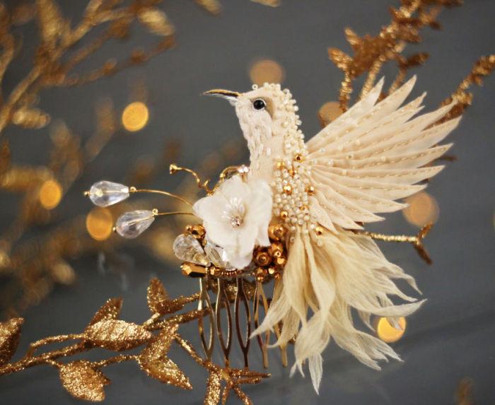 Полёт фантазии: 20 волшебных творений из шелка, бисера, пайеток и страз_273