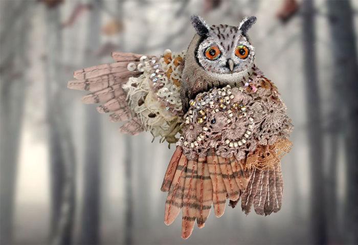 Полёт фантазии: 20 волшебных творений из шелка, бисера, пайеток и страз_275