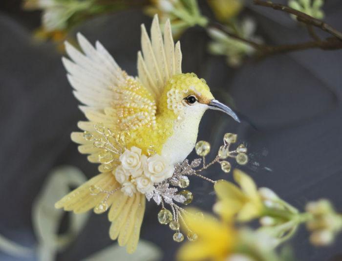Полёт фантазии: 20 волшебных творений из шелка, бисера, пайеток и страз_276