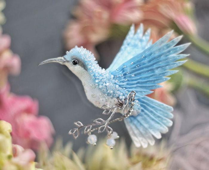 Полёт фантазии: 20 волшебных творений из шелка, бисера, пайеток и страз_277