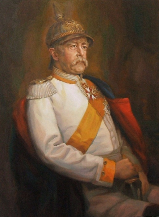 Отто фон Бисмарк - первый канцлер Германской империи. | Фото: kultprivet.ru.