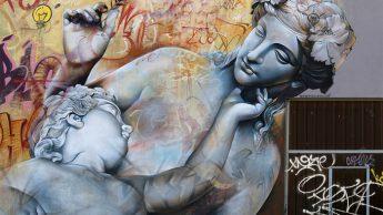 Граффити от испанского арт-дуэта