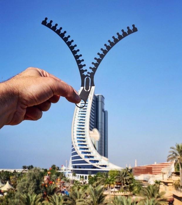Джумейра-Бич-отель — самая крупная и известная гостиница в Дубае