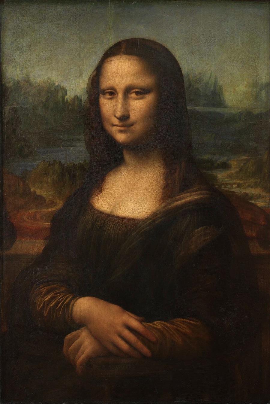 «Мона Лиза»: в её глазах есть скрытый код