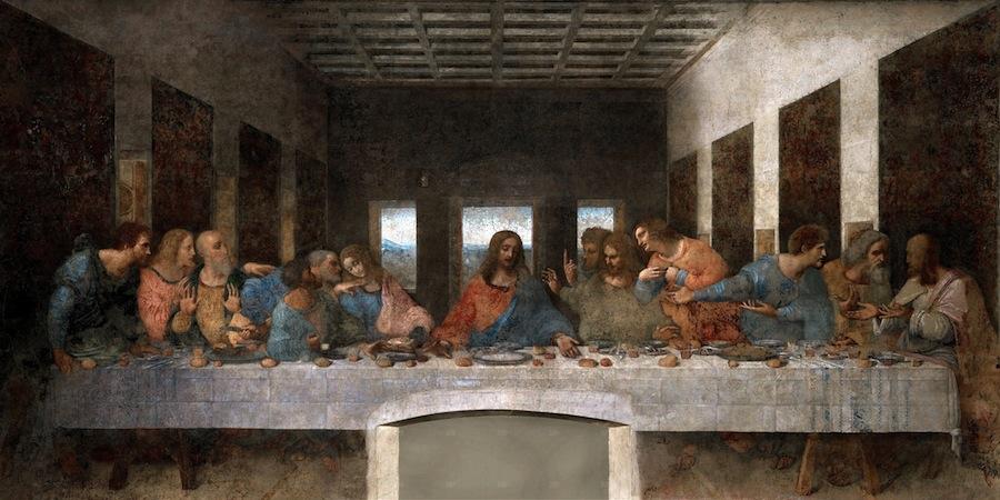 «Тайная вечеря»: в картине скрыты математические и астрологические головоломки и музыкальная мелодия