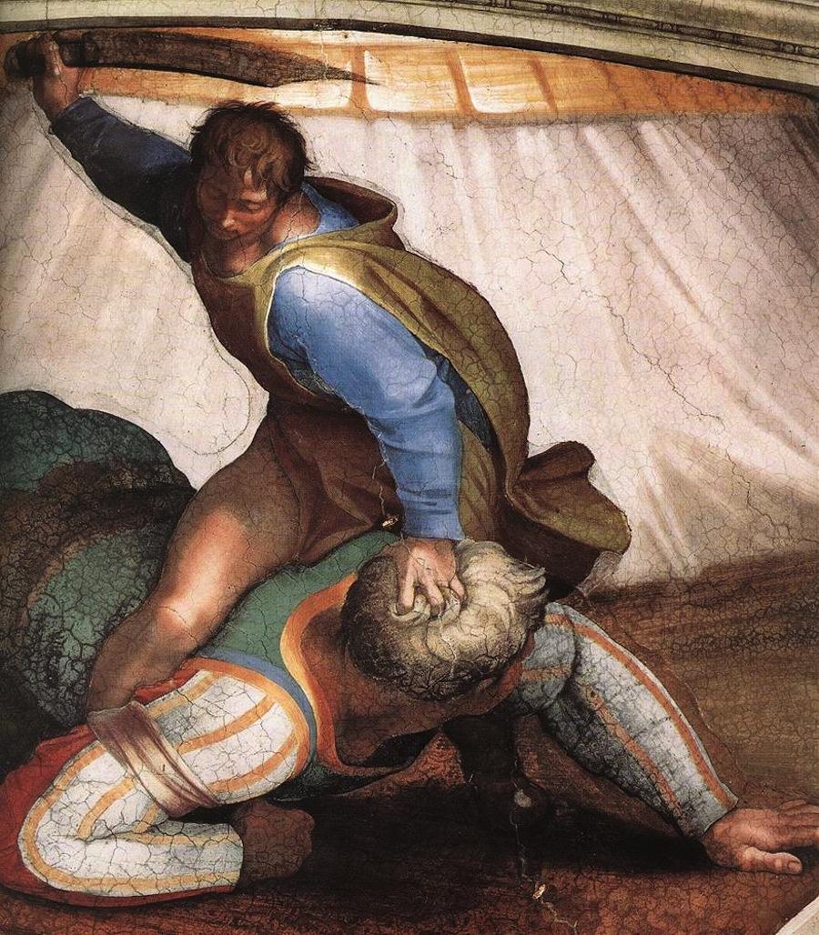 «Давид и Голиаф»: мистические знаки Каббалы