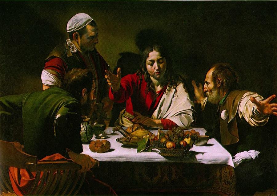 «Ужин в Эммаусе»: христианский обет молчания