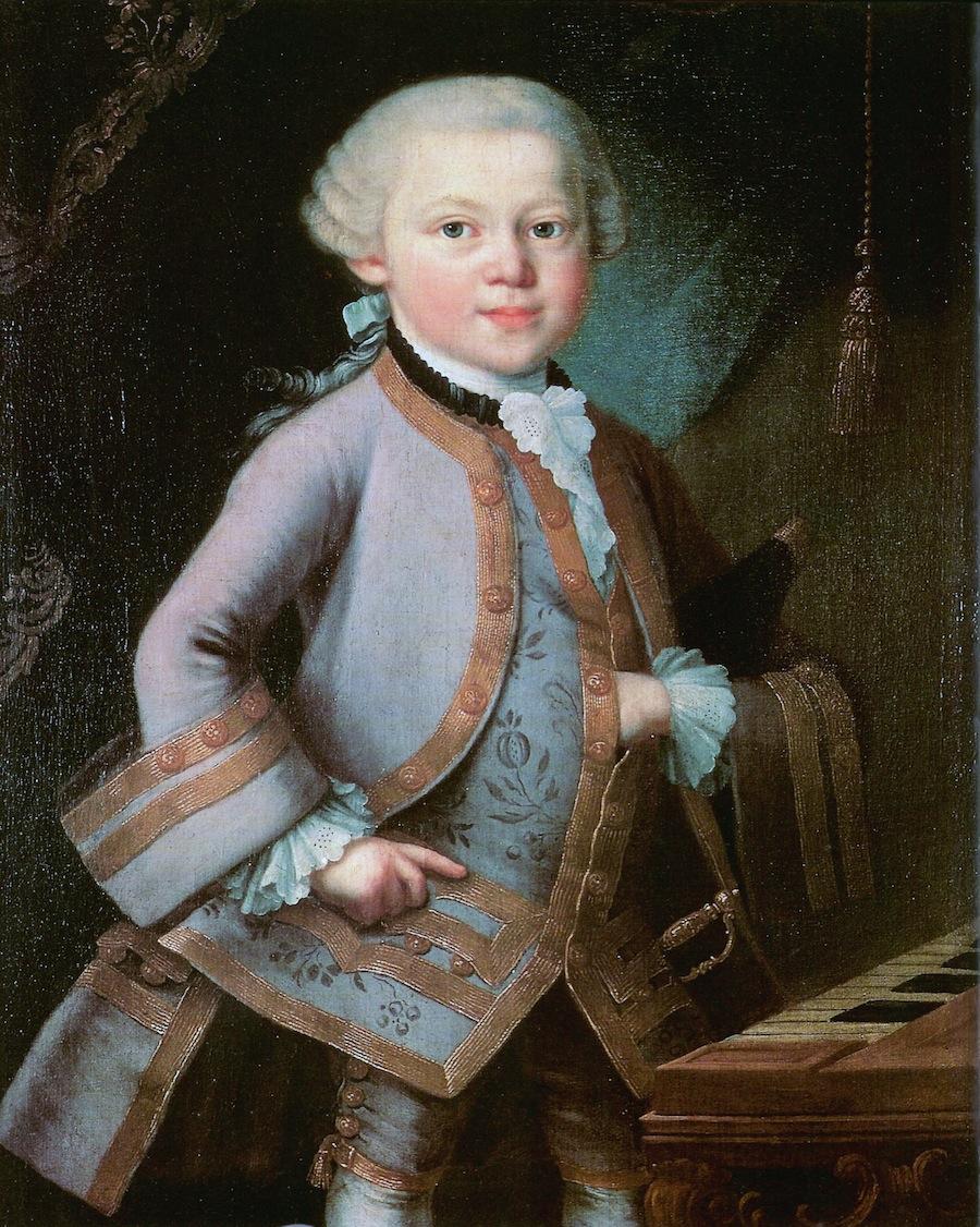 «Портрет юного Моцарта»: знаки масонов