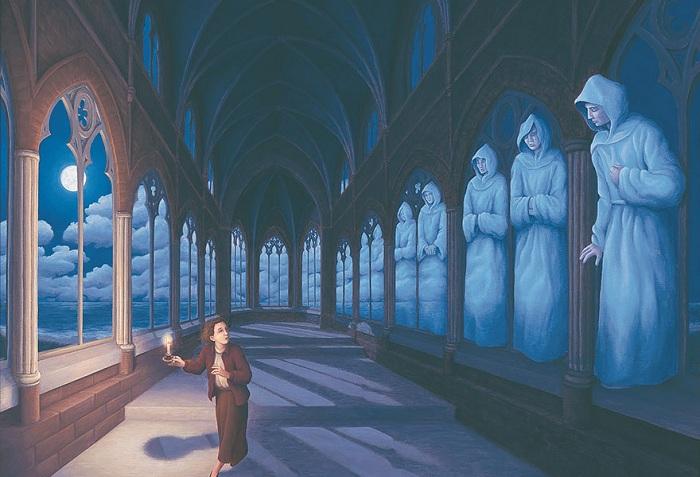 Размывая границы реальности: художественные оптические иллюзии