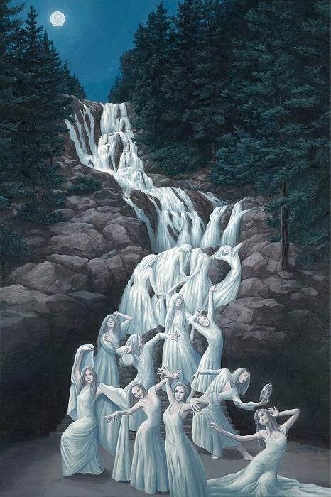 Творчество канадского художника Robert Gonsalves.