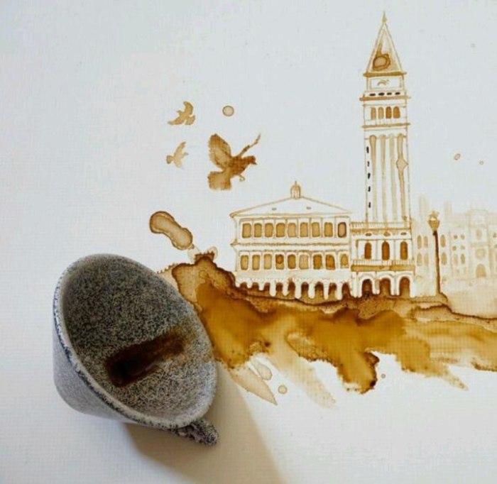 Голуби. Автор Giulia Bernardelli.