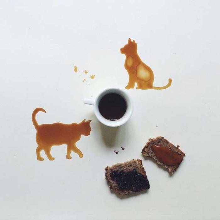 Кошка. Автор Giulia Bernardelli.