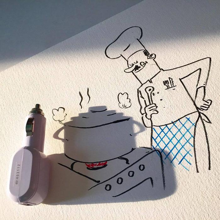 Механическая кухня. Автор: Vincent Bal.