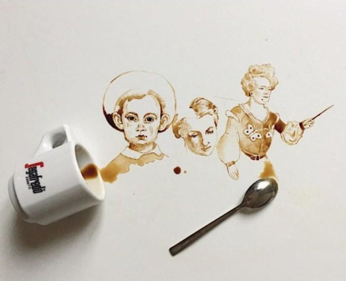 Портреты. Автор Giulia Bernardelli.