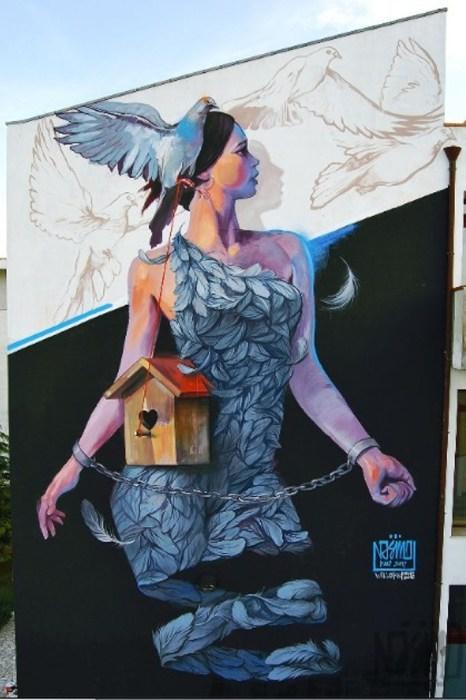 Птица мира. Автор: Ernaste Nasimo.