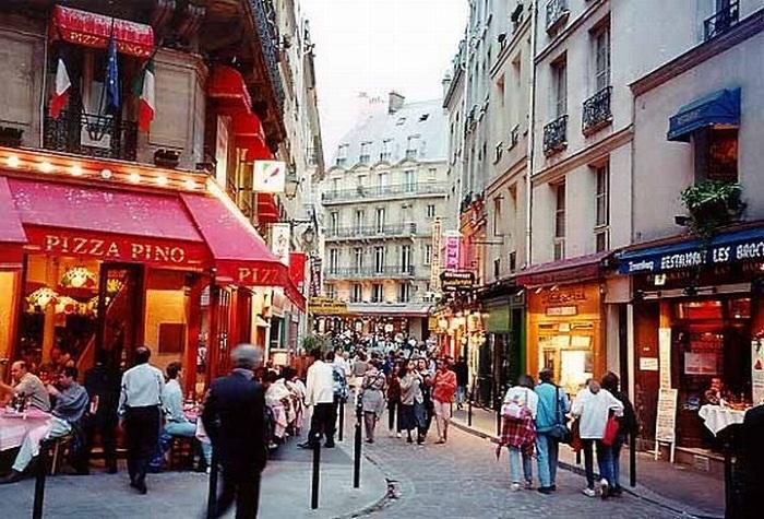 Латинский квартал Парижа