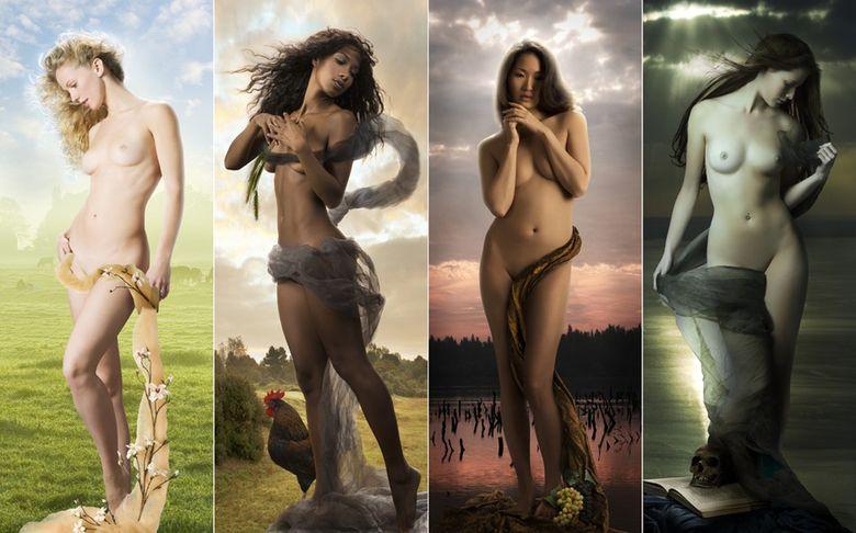 Обнаженная натура: потрясающе чувственные образы девушек в серии художественных фотографий