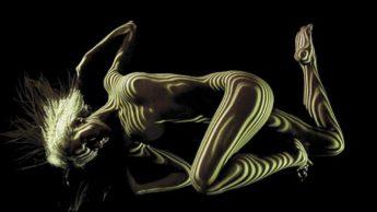 Абстрактная нагота. Автор: французский фотограф Дани Оливер (Dani Olivier).