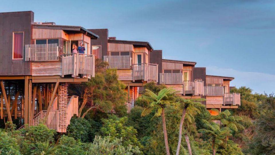 Hapuku Lodge Tree Houses, Новая Зеландия