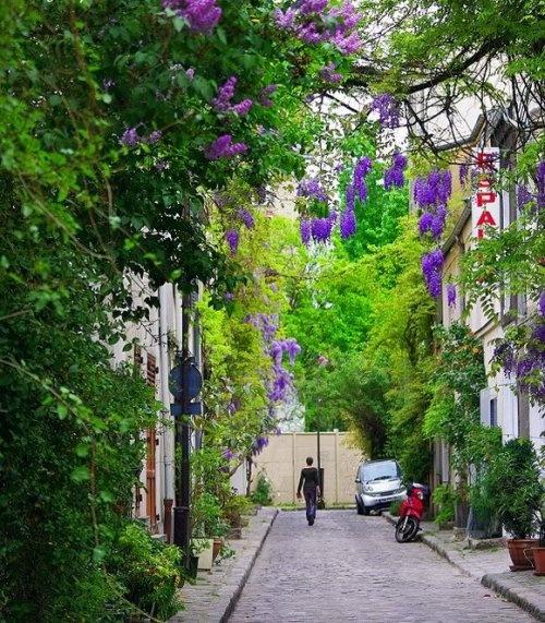 Улица Фермопил (Rue Des Thermopyles), Париж, Франция