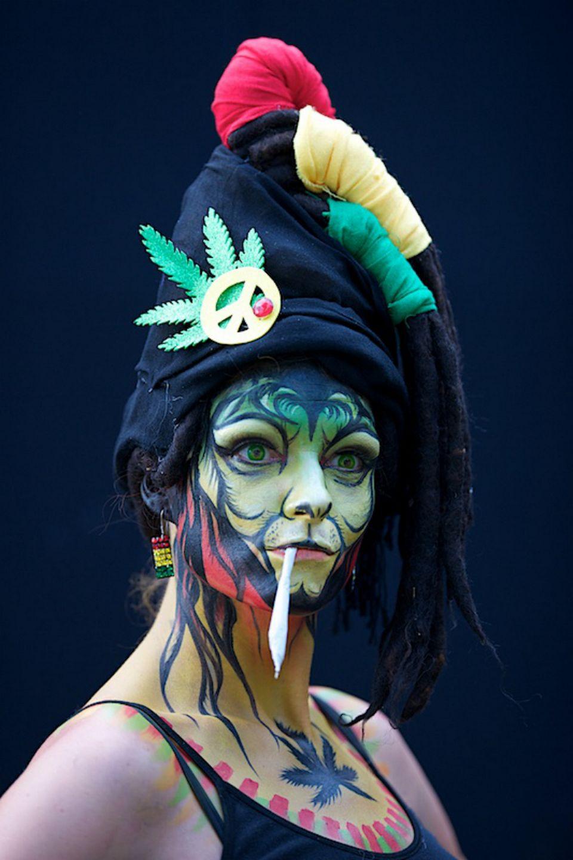 Международный фестиваль боди-арта в Австрии
