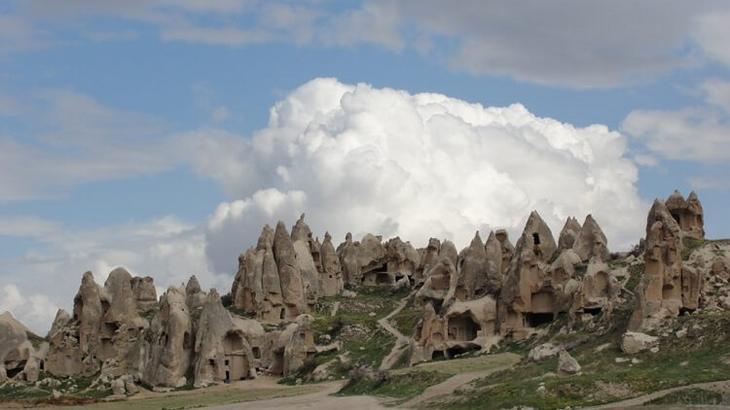 Жилые пещеры Каппадокии, Ургюп, Турция