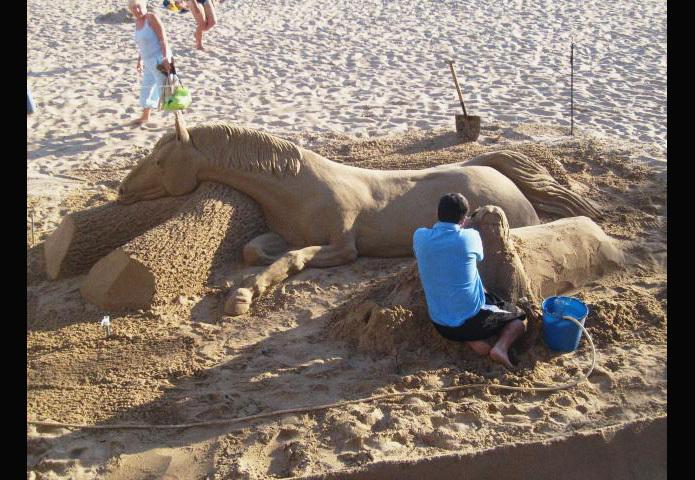 Пляжный талант