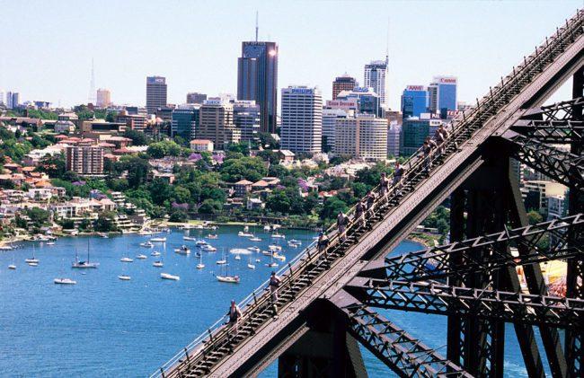 Сиднейский Харбор-Бридж, Сидней, Австралия