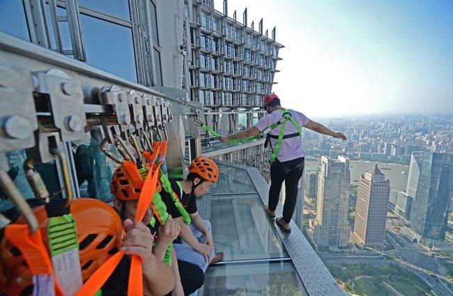 Башня Цзинь Мао, Шанхай, Китай