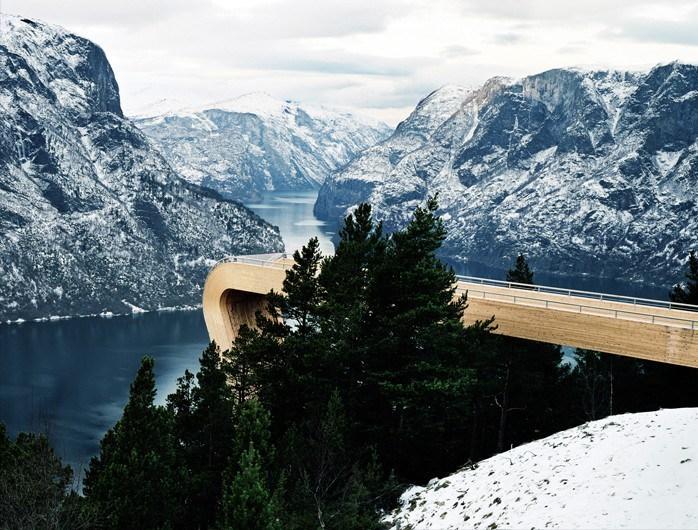 Смотровая площадка Аурланда, Аурланд, Норвегия