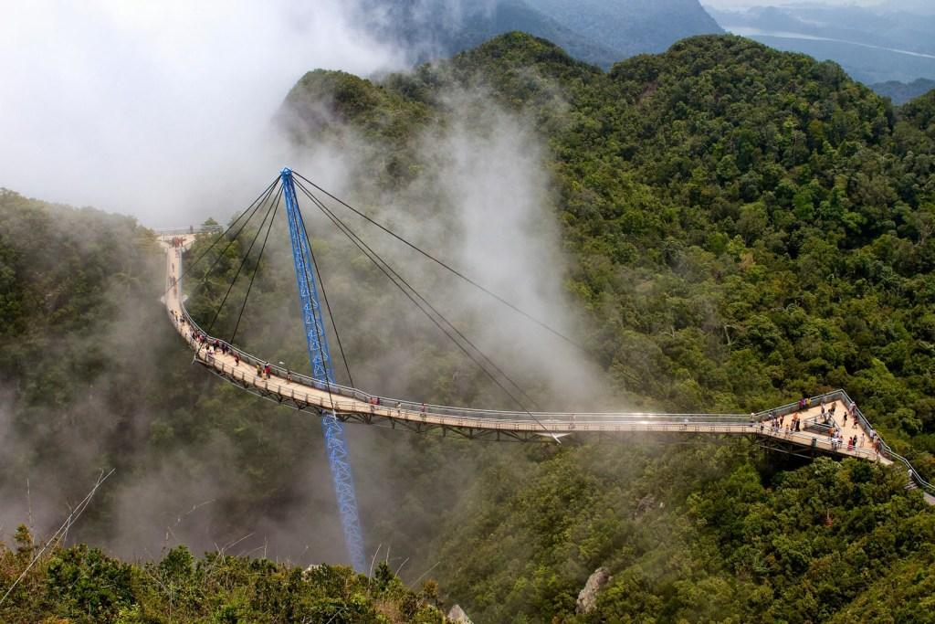 Небесный мост Лангкави, Лангкави, Малайзия