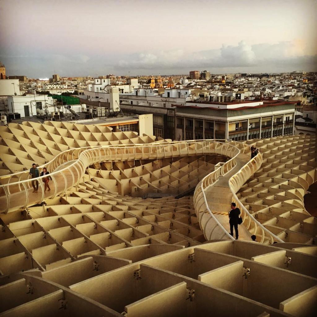 Метрополь Парасоль, Севилья, Испания