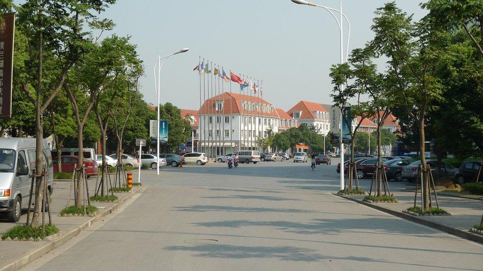 здания в Китае в шведском стиле