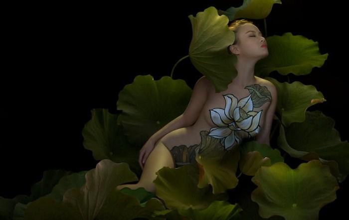 Белый цветок. Автор: Duong Quoc Dinh.