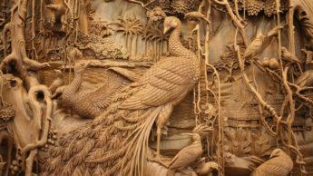 Dongyang - древнее искусство резьбы по дереву.