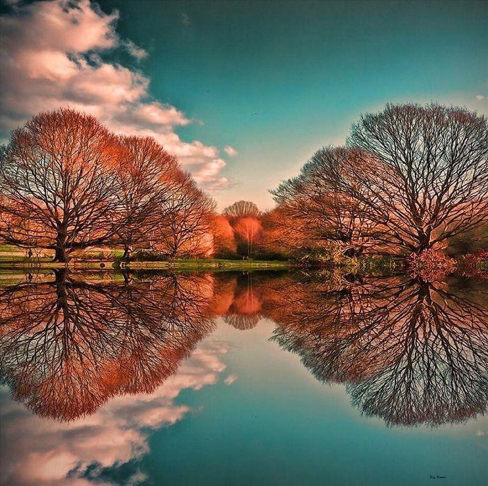 Гайд-парк в осеннее время