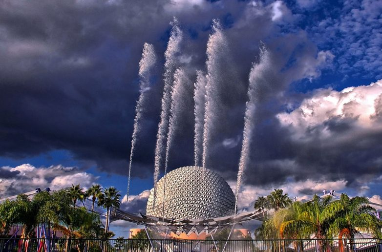 Фонтан наций, Флорида, США