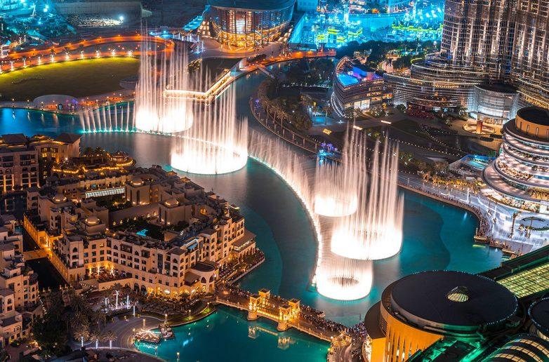 Поющий фонтан, Дубай