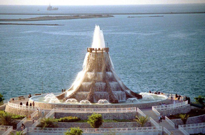 Фонтан-вулкан, Объединенные Арабские Эмираты
