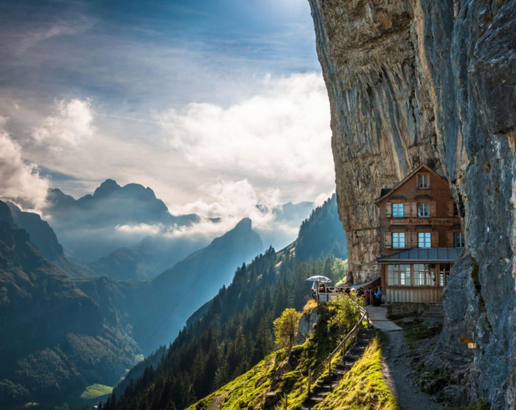 Отель «Эшер» в Аппенцелль, Швейцария